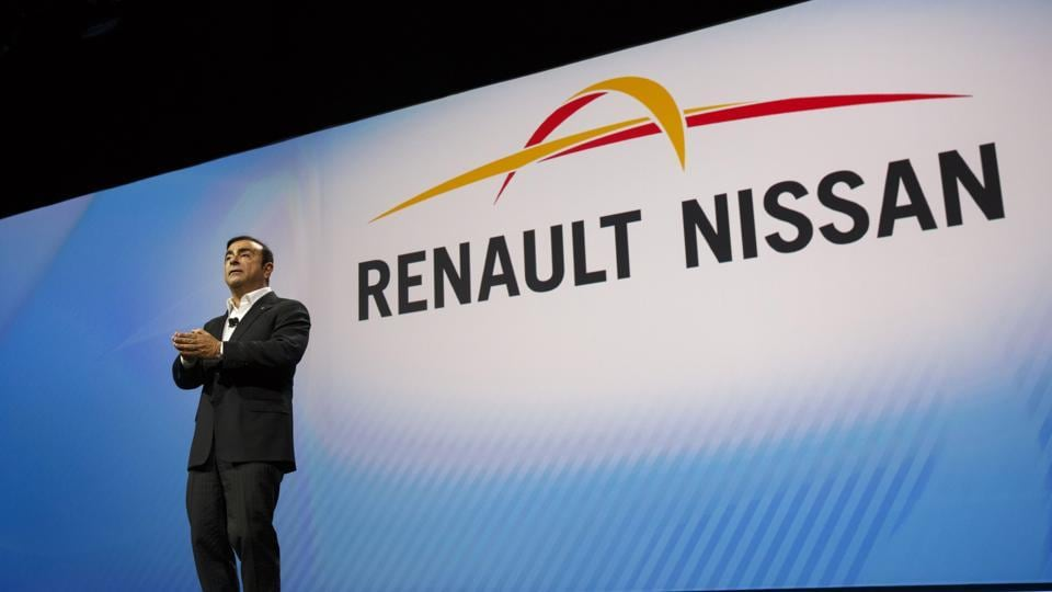 Carlos Ghosn, chairman and chief executive officer of Nissan Motor Co. and Renault SA.