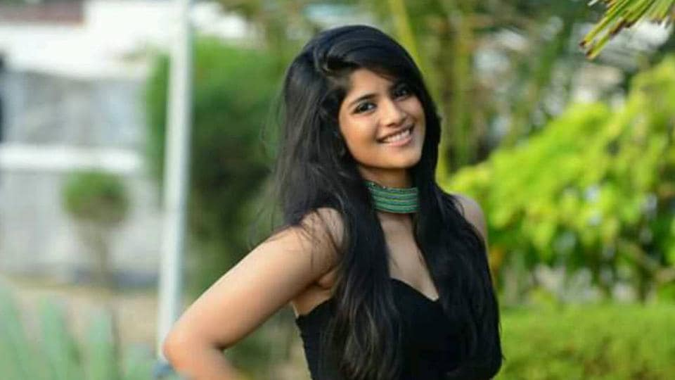 Megha Akash has worked in Telugu films like Lie and Chal Mohan Ranga in the past.