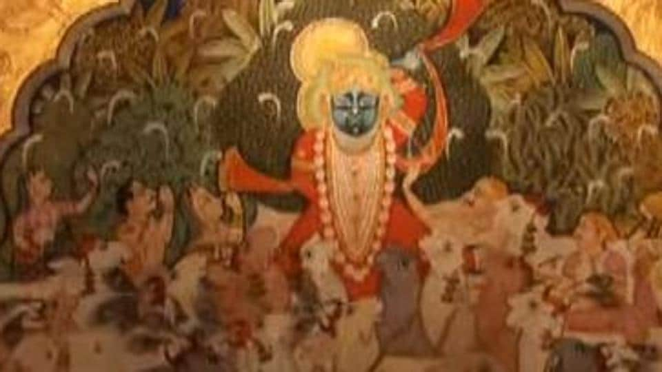 The Pichwai paintings are an age-old traditional art of Rajasthan.