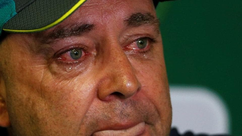 Meanwhile, Darren Lehmann has announced he will step down as Australia's head coach following the fourth Test against South Africa.  (REUTERS)