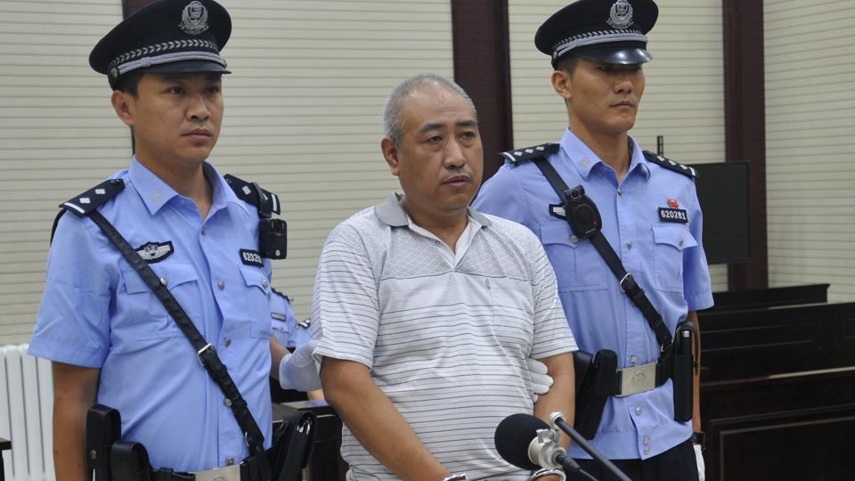 Gao Chengyong, 53, targeted young women wearing red and followed them home.