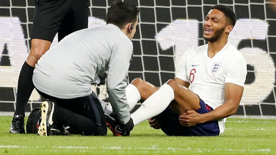 Liverpool's Joe Gomez will also miss the Champions League quarter-final first leg against Manchester City at Anfield next week.