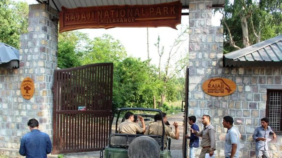 The poaching incident was reporterd in the core area of Rajaji Tiger Reserve.