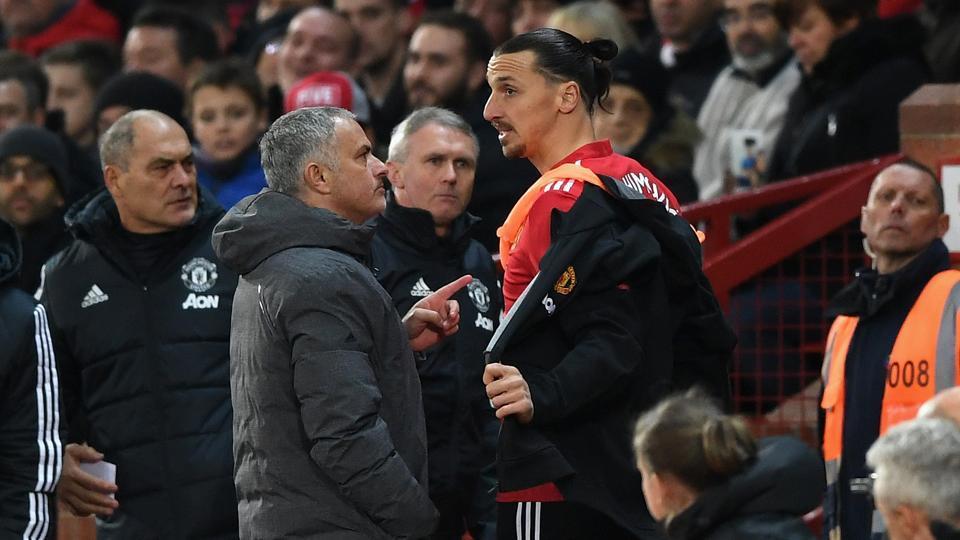 Jose Mourinho,Zlatan Ibrahimovic,Manchester United