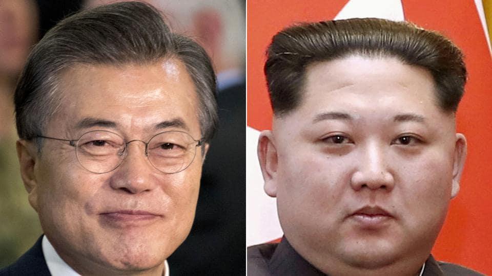 South Korean President Moon Jae-in and North Korean leader Kim Jong Un will meet at a border village on April 27.