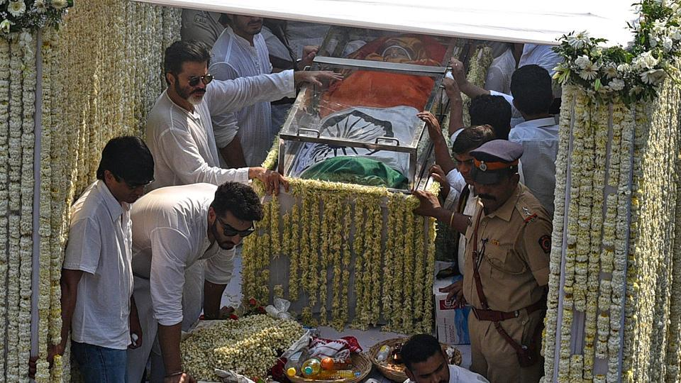 Sridevi was laid to rest with full state honours on February 28.