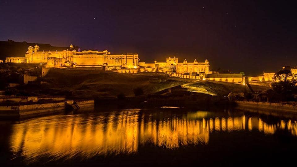The night tourism project was first initiated at Amber Fort in Rajasthan.