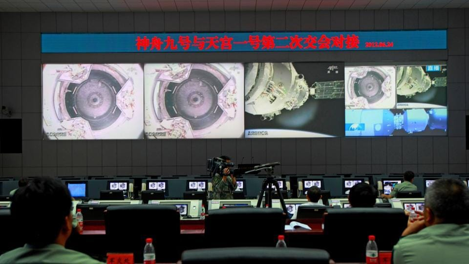 As Predicted, Chinese Space Lab Falls From The Sky