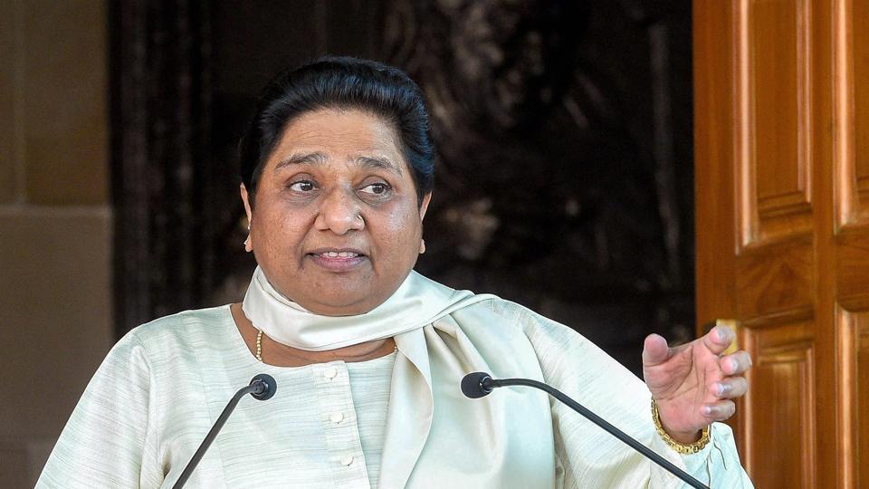 Mayawati,BJP,Ambedkar statues