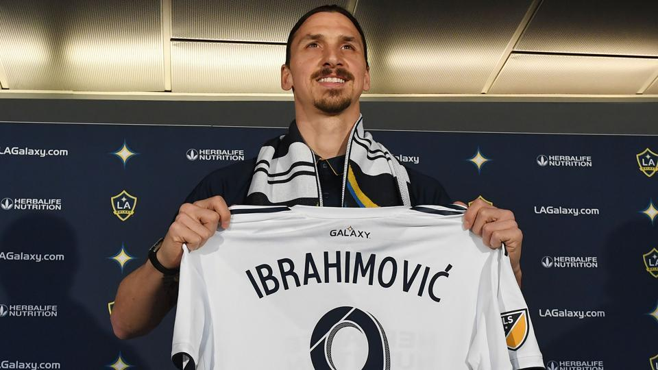 Zlatan Ibrahimovic,Football,LA Galaxy