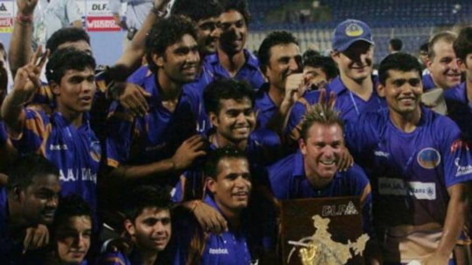 Rajasthan Royals won the inaugural season by beating Chennai Super Kings in the final. (Getty images)