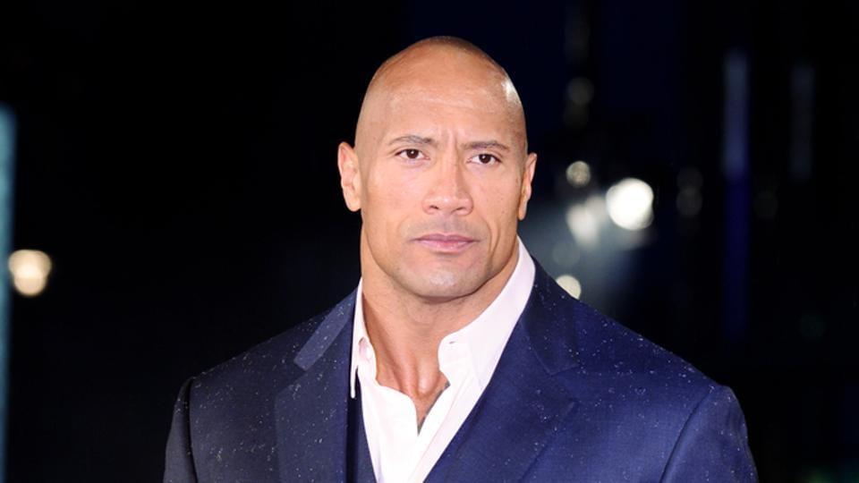 The Rock is one of the highest paid actors in the world.
