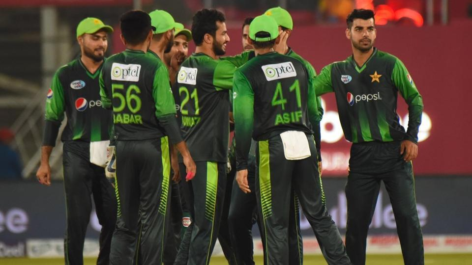 Pakistan defeated West Indies in the first Twenty20 International between them in Karachi on Sunday.