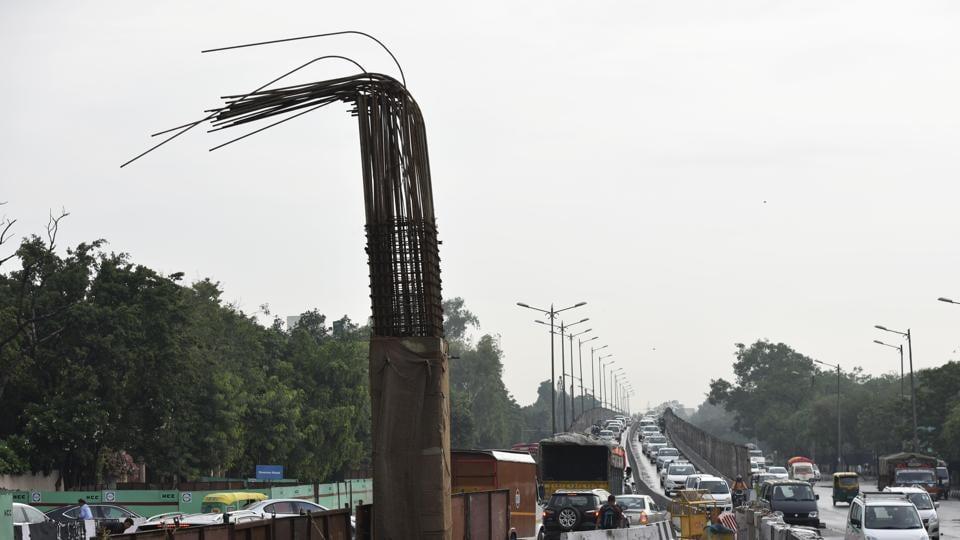 Flyover construction,Rao Tula Ram,PWD