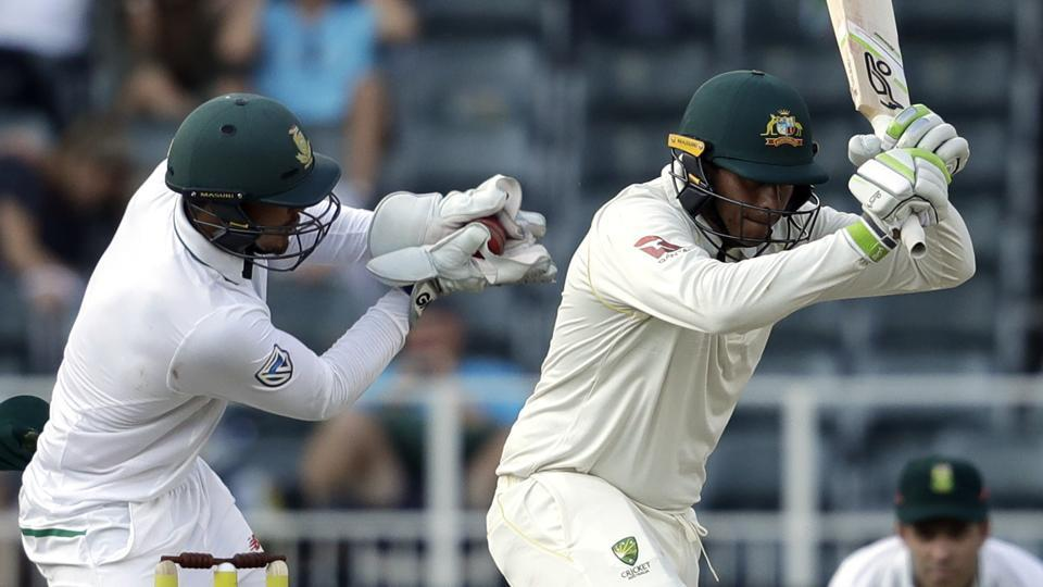 Quinton de Kock creates a 'buzz' with this odd missed stumping