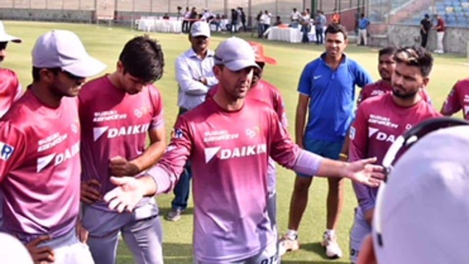 Ponting  has taken charge of his boys in Delhi. (HT Media)