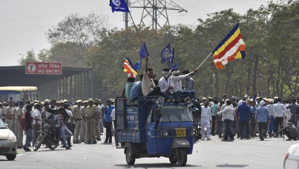 Protesters squatted at Rajiv Chowk on Monday affecting the interstate and intracity traffic. The resulting jams took hours to clear, and left many commuters stranded as autorickshaws were nowhere to be found.