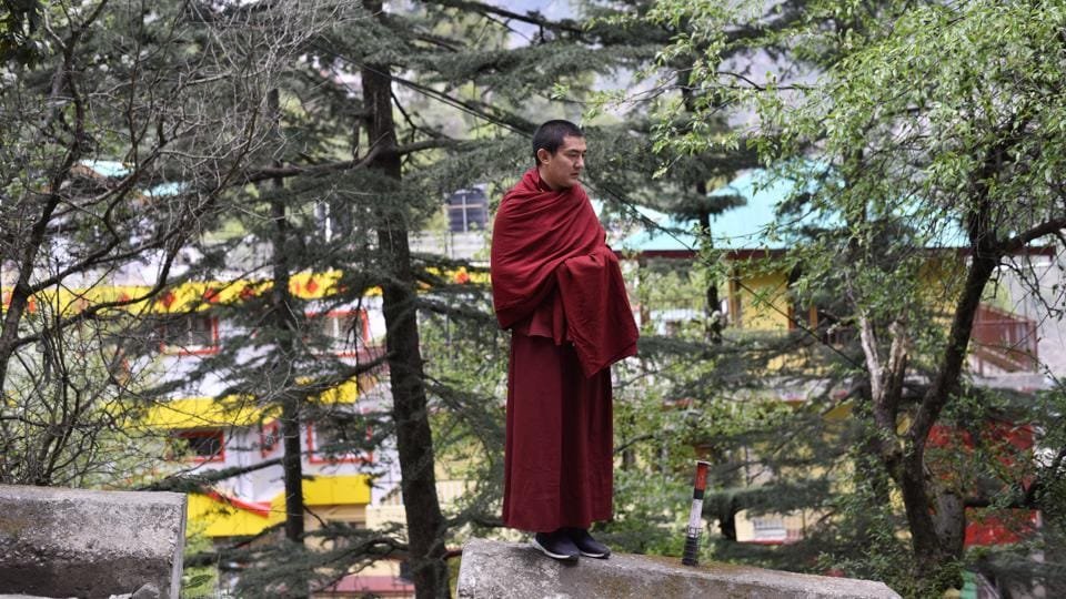 The Central Tibetan Administration (CTA) confirms the migration trend but says it has no way of quantifying it, especially those returning to Tibet. Unofficial estimates from the Foreigners Registration office in Dharamshala indicate a number as high as around 100 Tibetans each year of McLeodganj's 15,000-strong population having migrated in the past two years. (Anushree Fadnavis / HT Photo)