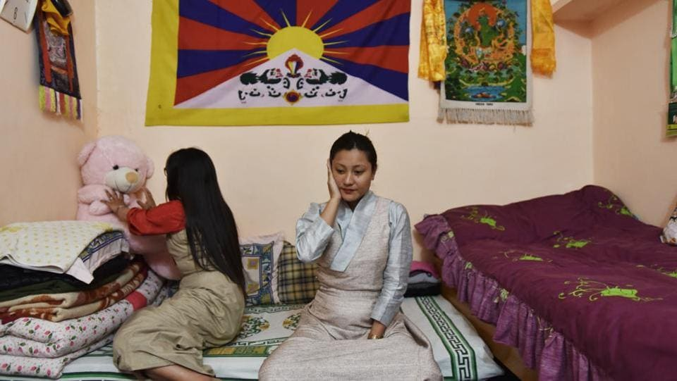 For some, separated from families in Tibet, migration is interwoven with the desire to find a home. Others are moved to this decision by matters of policy, financial need and better opportunities trumping bonds they have forged through life in India. But a consideration that simply a move elsewhere may not end this search is also a reality among young Tibetans.  (Anushree Fadnavis / HT Photo)