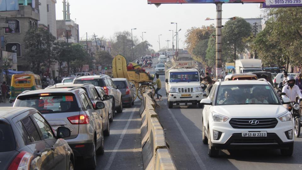Ghaziabad,elevated road,Hindon road