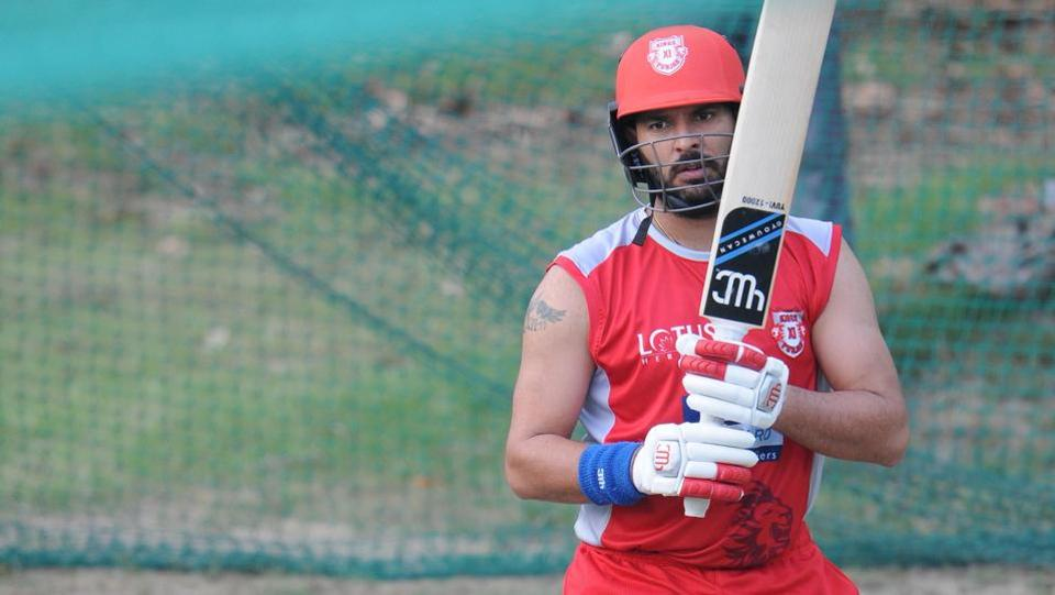 KXIP are hoping to end their IPL title drought this season, having never won the title previously. (Ravi Kumar/HT Photo)