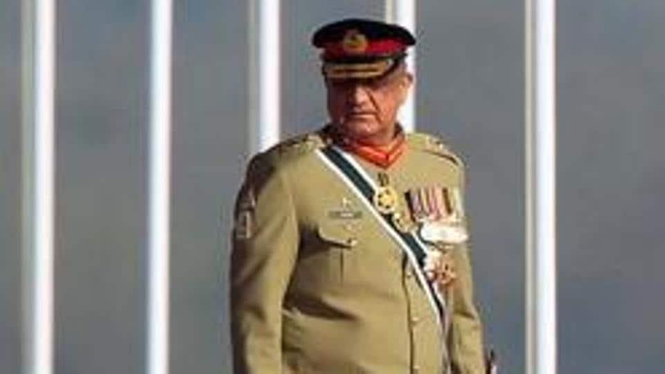 Pakistan's Army Chief of Staff Lieutenant General Qamar Javed Bajwa in Islamabad, Pakistan.