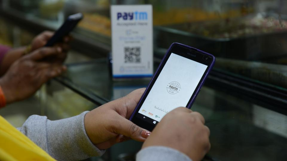 Paytm's latest update on App Store includes the revamped UI.