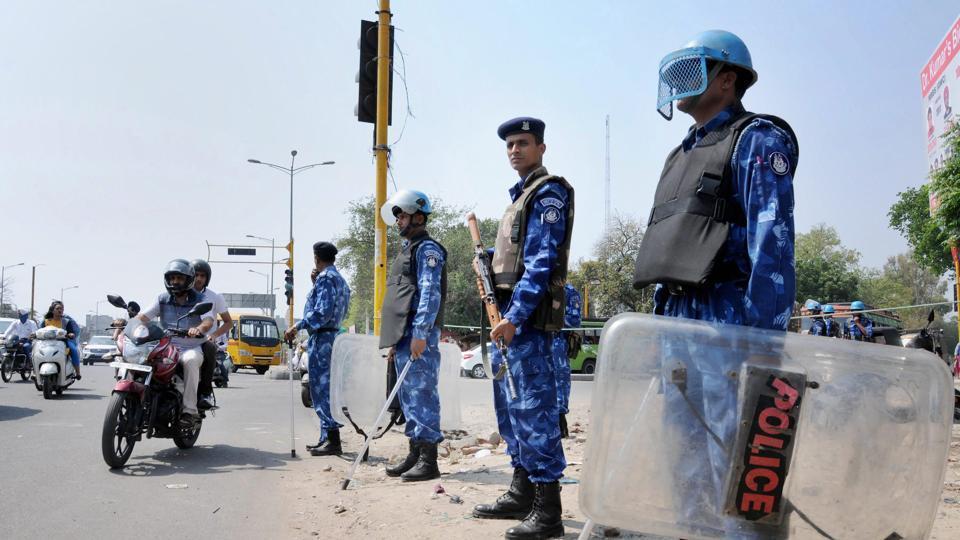 security arrangements for bharat bandh के लिए इमेज परिणाम