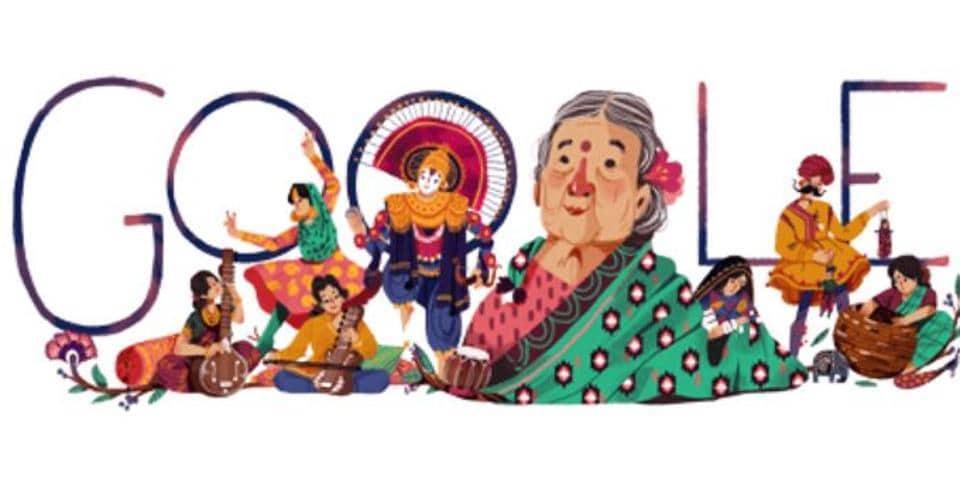 Kamaladevi Chattopadhyay,Google Doodle,India news