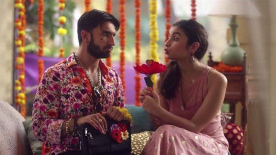 Ranveer Singh and Alia Bhatt in a TV commercial. (YouTube Grab)