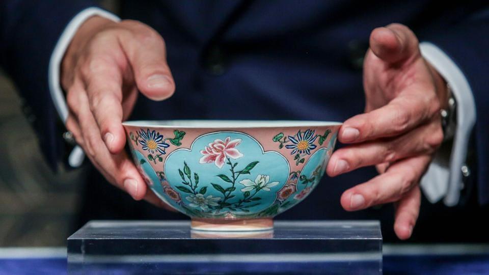 Qing Dynasty,Bowl,Chinese emperor Kangxi