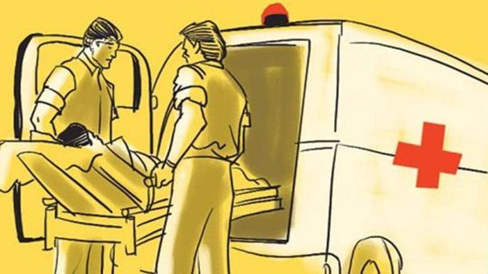 """""""The injured constable was rushed to Ashwini hospital, where he was undergoing treatment.But he succumbed to his injuries later in the evening,"""" said the officer."""