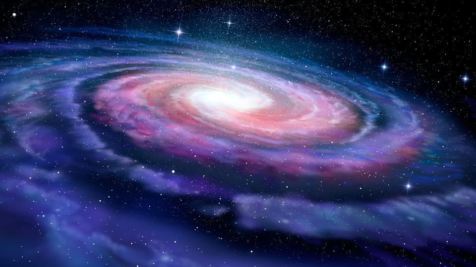 Age map of Milky Way,Map of Milky Way,Milky Way