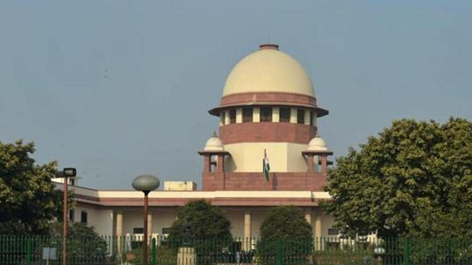 A view of the Supreme Court of India in New Delhi.