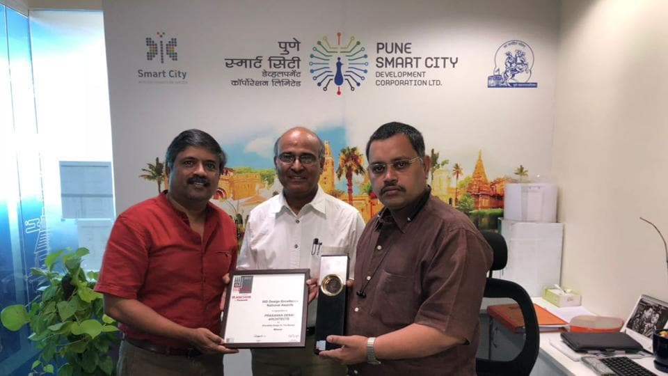Pune,Smart City street project,Design Excellence Awards