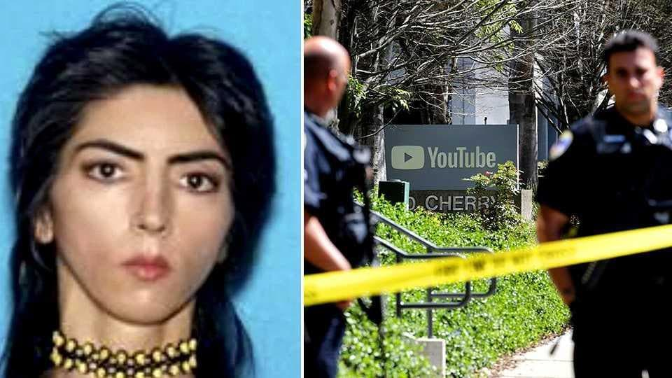 Nasim Aghdam, the woman shooter who opened fire at YouTube headquarters in San Bruno, California on April 3, 2018. Aghdam was found dead from what appeared to be a self-inflicted gunshot after she injured three others.