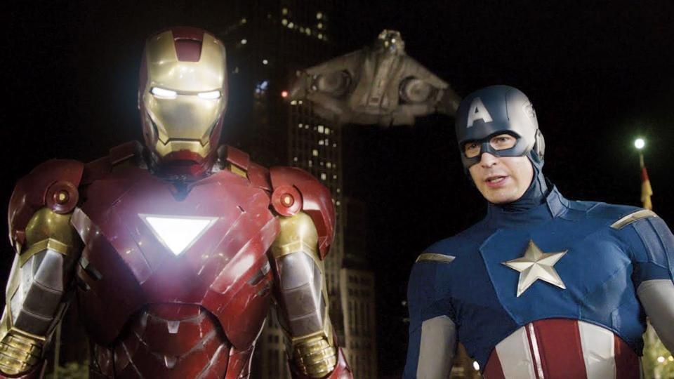 Robert Downey Jr,Chris Evans,Avengers Infinity War