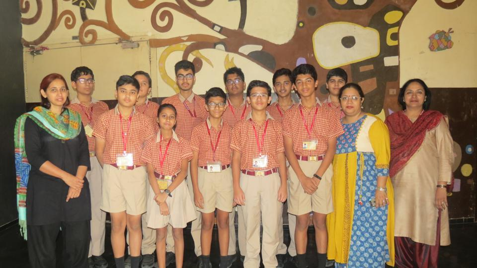 Pune,Orchid school,Students