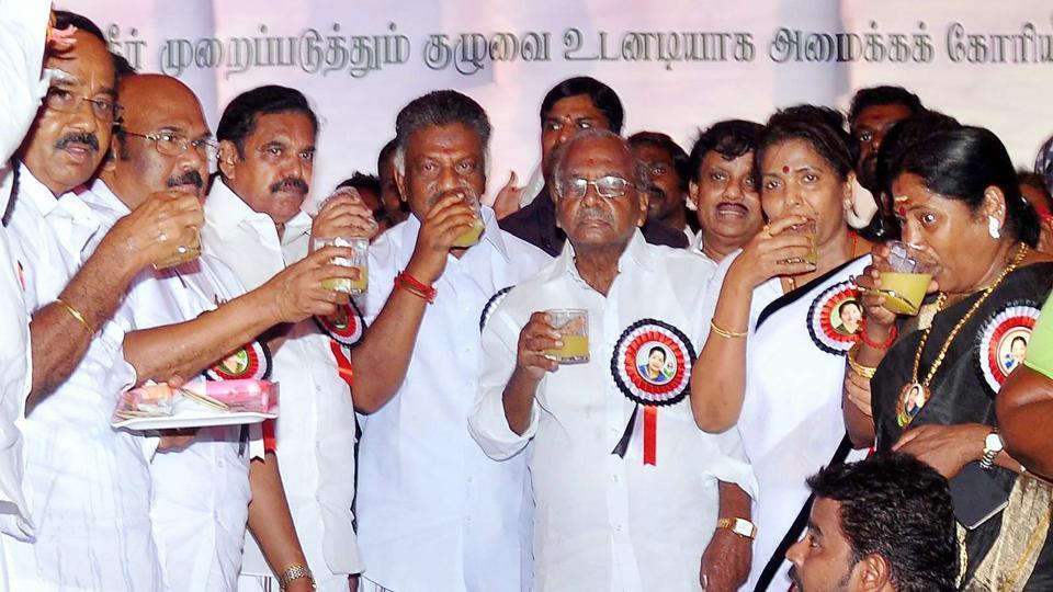 Tamil Nadu,AIADMK,Cauvery issue
