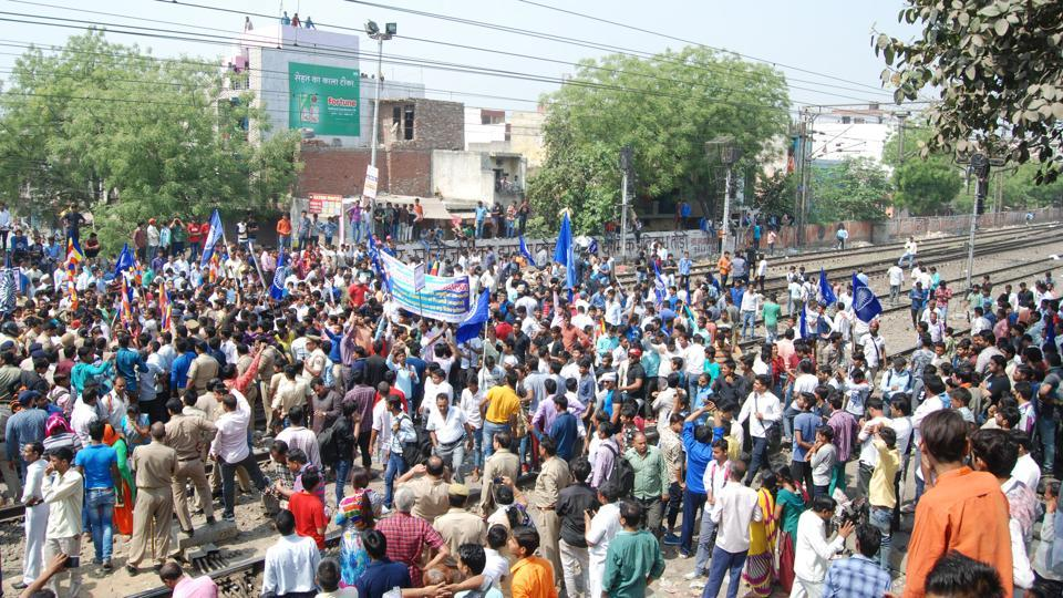 On Monday, lakhs of protesters belonging to several pro-Dalit organisations had blocked highways and roads in various states to protest against the recent amendments introduced by the Supreme Court in the Scheduled Caste/Scheduled Tribe Atrocities Act.