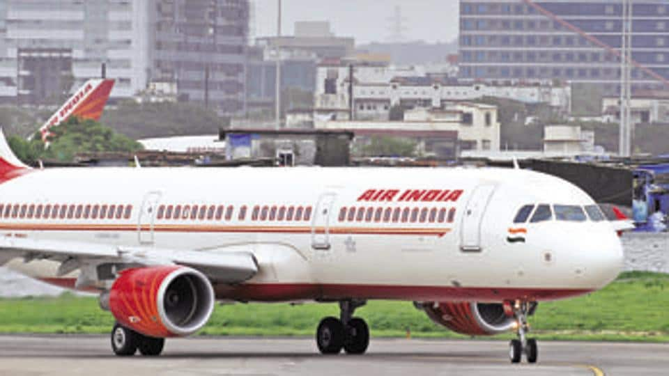 Air India,Air India flight grounded,Chicago airport