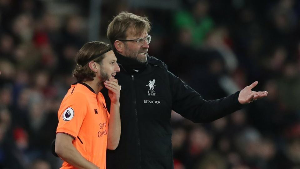 Adam Lallana,Jurgen Klopp,Premier League