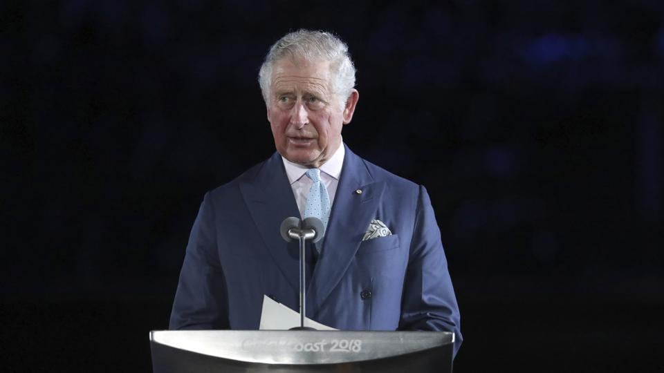 Prince Charles declares the games open during the opening ceremony for the 2018 Commonwealth Games. (AP)