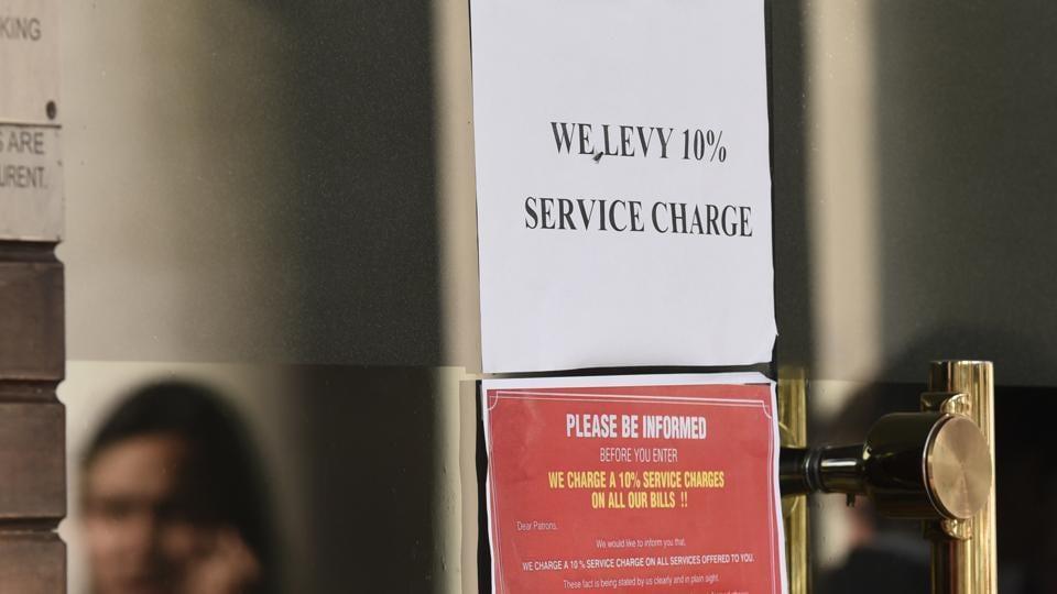 Pune,service charge,menu