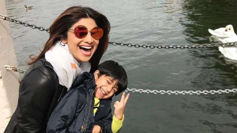 Shilpa Shetty's son Viaan has performed on a Tiger Shroff song and the Baaghi star is more than impressed.