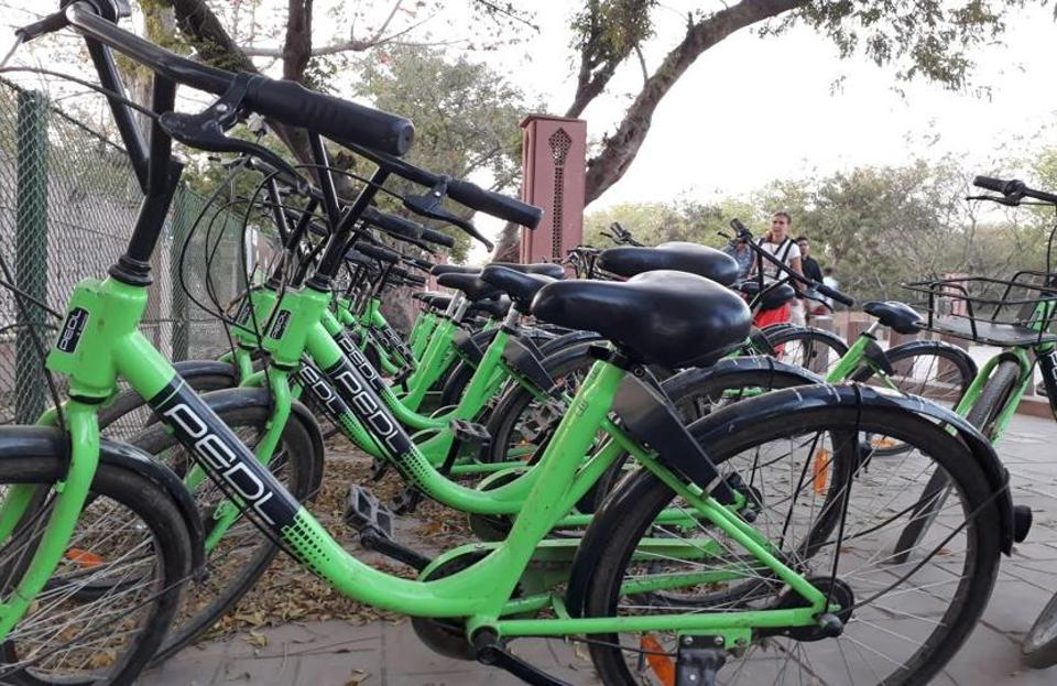 LMC officials said the bicycle scheme is aimed at moving towards a cleaner, greener and healthier tomorrow and strengthen the local transport system.
