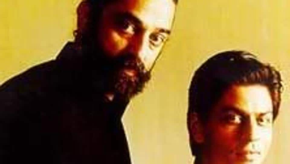 Kamal Haasan and Shah Rukh Khan played the role of best friends in the film Hey Ram.