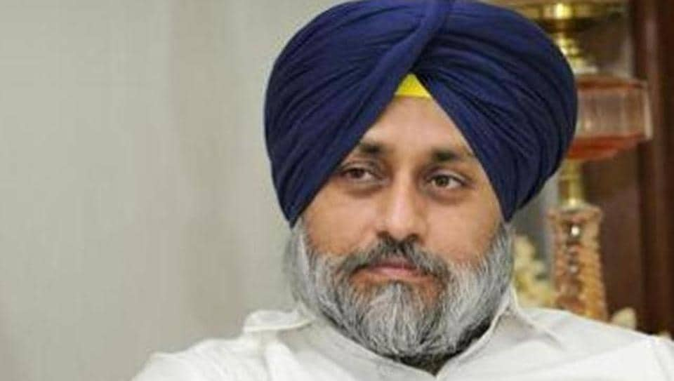 Shiromani Akali Dal (SAD) chief Sukhbir Singh Badal