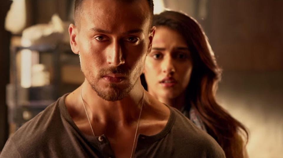 Baaghi 2 box office collection day 6: Tiger Shroff and Disha Patani in Baaghi 2.