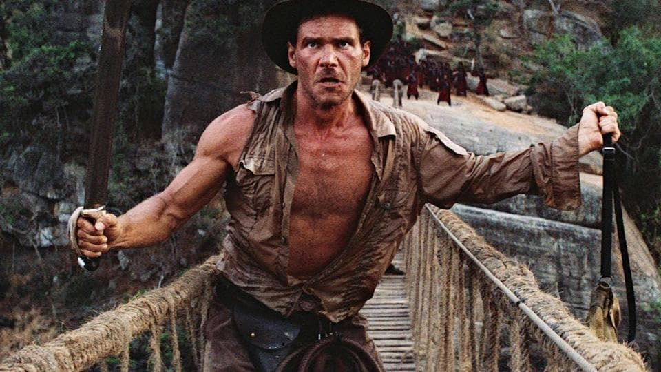 Harrison Ford has played Indiana Jones in four movies.
